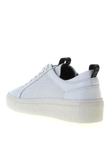 Aeropostale Aeropostale Beyaz Deri Sneaker Beyaz
